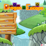 Screenshot of Dragon Escape